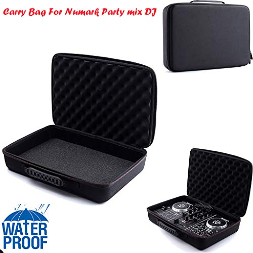 Ecurson Storage Box/Carrying case/Shockproof Bag,EVA Hard Case Cover Waterproof Bag Storage Carrying Bag for Numark Party Mix DJ