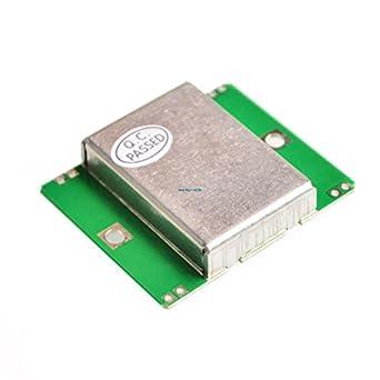 aubreey 5pcs microondas Doppler Radar inalámbrico módulo sensor de movimiento HB100 10.525 gHz 3 MHz,