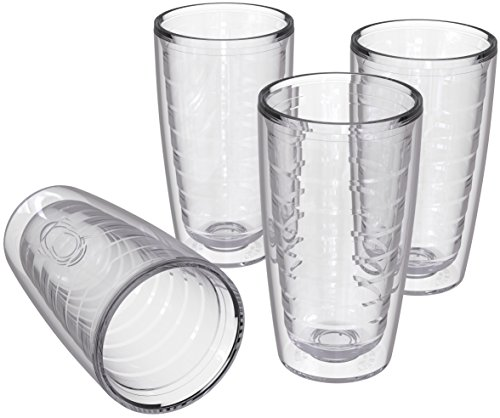 4-pack Insulated 16 Ounce Tumblers - BPA-Free -