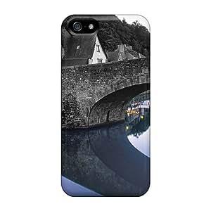 Premium Bridge Reflection Colorsplash Heavy-duty Protection Case For Iphone 5/5s