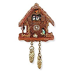Dollhouse Miniature Black Forest Cuckoo Clock