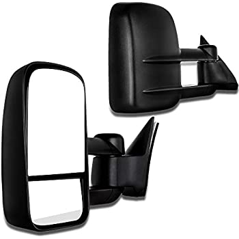 scitoo towing mirrors fit 1988-98 chevy gmc c/k 1500 88-00 c/k 2500 3500  92-99 suburban c/k 1500 2500 tahoe yukon truck 2000 chevy tahoe gmc yukon  manual