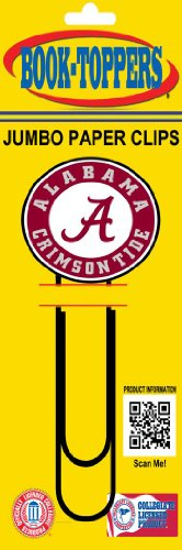 Alabama Crimson Tide Jumbo Paper Clip (Tide Alabama Paper Clip Crimson)