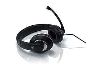 Conceptronic CMUSICSTARR - Auriculares de diadema cerrados con micrófono