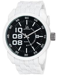 Joshua & Sons Men's JS63WT Analog Display Japanese Quartz White Watch