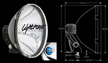 41BQgIM34SL._SX355_ amazon com lightforce 240 blitz hid lights 12 volt automotive lightforce 240 blitz wiring diagram at soozxer.org