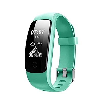 Helthyband Fitness Tracker, H107 Waterproof Activity Tracker Smart Watch Wristband with Heart Rate Monitor, Pedometer, Sleep Tracker, Calorie Counter, Multiple Sport Mode for Kids Men Women