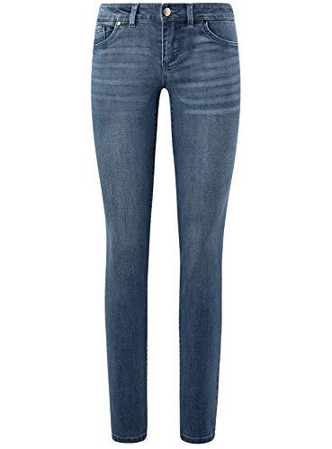 Oodji Donna Slim Basic 7500w Fit Ultra Blu Jeans OfHTx8qO