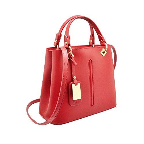 glad myitalianbag handtas schouderhanger Italiaanse afneembare goud nikkellicht Valentina met onbuigzaam goud leer AAxvnq4w