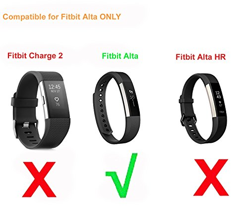 Buy CAVN 2 Pcs Fitbit Alta Charger with Reset Button (1FT+3FT