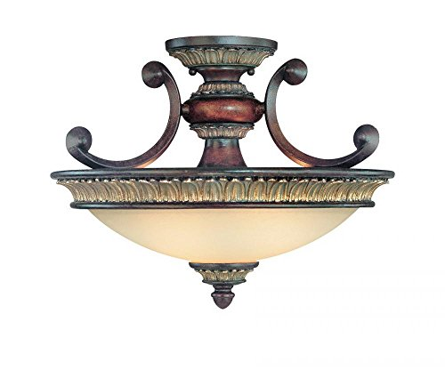 Dolan Designs 2645-211 Bonita 2 Light Semi Flush mount, (Dolan Designs Matte)