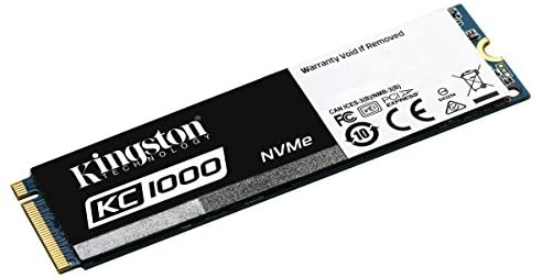 Kingston KC1000 - SSD NVMe PCIe de 960 GB, Gen2 x4 (M.2 2280 ...