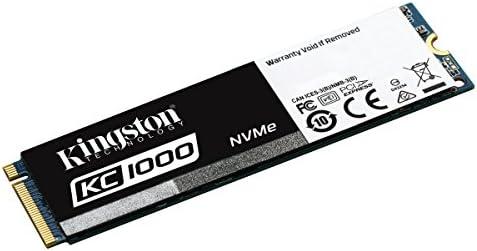 Kingston KC1000 - SSD NVMe PCIe de 960 GB, Gen2 x4 (M.2 2280 ...