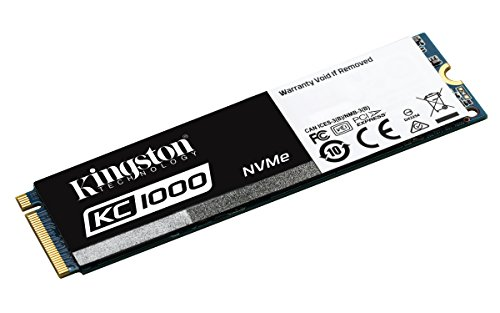Kingston Digital KC1000 NVMe PCIe 480GB SSD (M.2 2280)  SKC1000/480G by Kingston