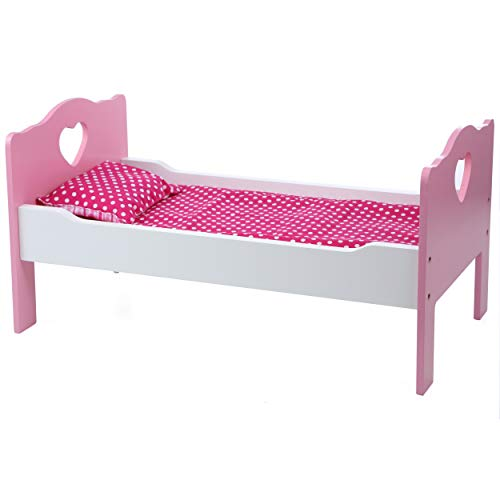 Beverly Hills Doll Accessories Bed and Bedding Wooden Furniture and