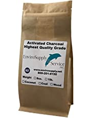 Powdered Hardwood Carbon for Oil Extraction (Decolorization) - Resealable 8 Oz Bag
