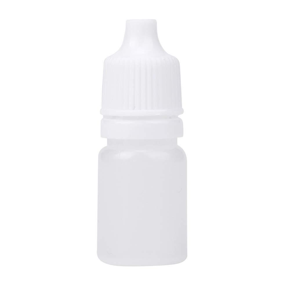 Jonerytime❤️25/50/100PCS 5ml Empty Plastic Squeezable Dropper Bottles Eye Liquid Dropper (25PCS)