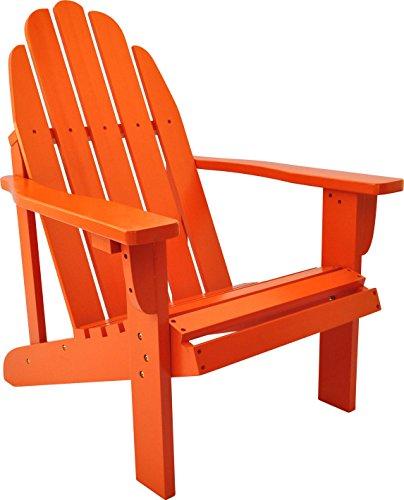 Shine Company Catalina Adirondack Chair, Tangerine