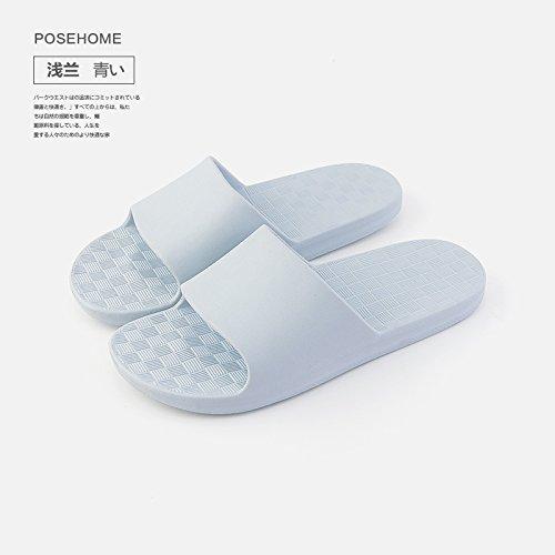 di domestici pantofole pantofole 36 Azzurro soft 35 nbsp;Il estate la e donne scivolo usi nbsp; per piscina bagno freddo home deodorazione uomini plastica anti Fankou e per fondo bagno 4ZtcHwOOWq