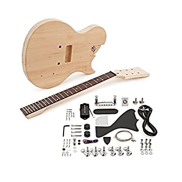 Kit de Bricolaje de Guitarra Eléctrica New Jersey Jr: Amazon.es: Instrumentos musicales