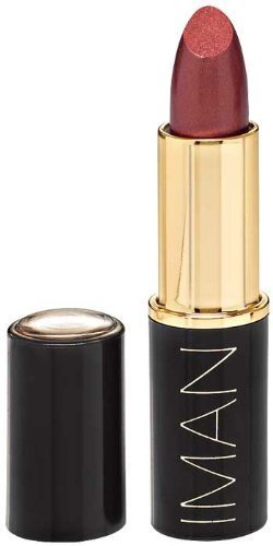 Iman Luxury Moisturizing Lipstick, 0.13 oz (Color: Mahogany) - Iman Luxury Moisturizing Lipstick
