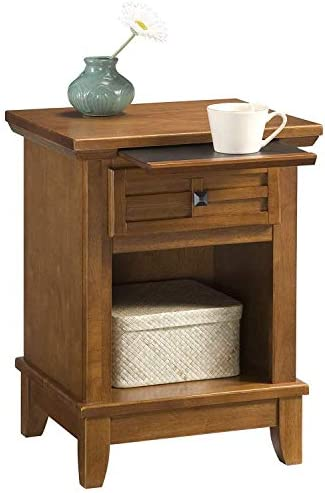 Best modern nightstand: Home Styles Arts and Crafts Night Stand Oak