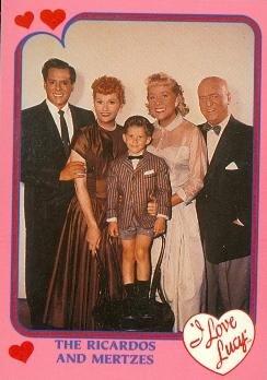 I Love Lucy trading card (Ricardo Mertz) 1991 Pacific #2 Lucille Ball Desi Arnaz Fred Mertz Ethel Mertz Ricky Ricardo
