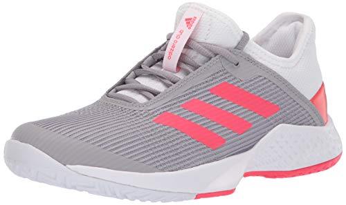- adidas Women's Adizero Club, White/Shock red/Light Granite, 8 M US