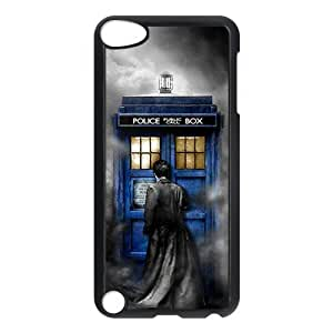 LeonardCustom Doctor Who Tardis Police Box Hard Plastic iPod Touch 5 iTouch 5th Generation Cover Case -LCP5U648