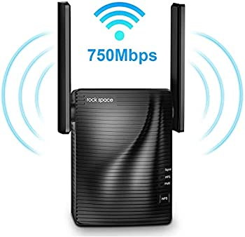 Rock Space 750Mbps 2.4 & 5GHz Dual Band WiFi Extender