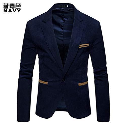 Homme Color Veste Revers Occasionnels Mode Vestons Blazer Green Tibetan De Hommes Costume Pxfgnw5OwB