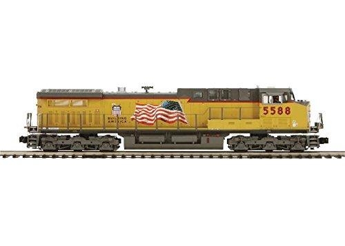 (MTH MTH20206411 O Hi-Rail AC4400cw w/PS3, UP #5588)