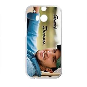 Luke Bryan Sunny Smile Design Hard Case Cover Protector For HTC M8