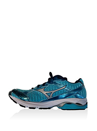 Running Zapatillas Laser 39 Turquesa us Azul Wos Eu plateado Wave Mizuno 8 De 5 ERwqqa