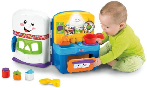 Presents to get 1 year old girls. Fisher-Price Laugh & Learn Learning Kitchen