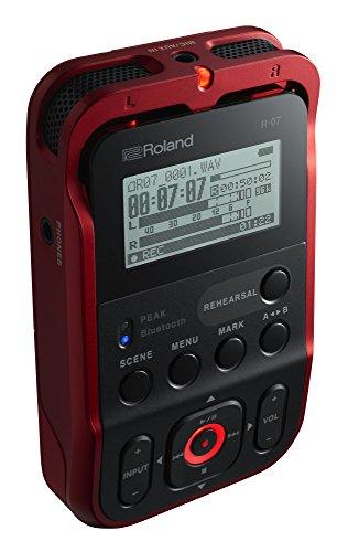 Roland r-07 - grabadora de audio portátil de alta resolución, red.: Amazon.es: Instrumentos musicales