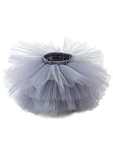 Girl's 6-Layered Ballet Tutu Fluffy Tulle Little Princess