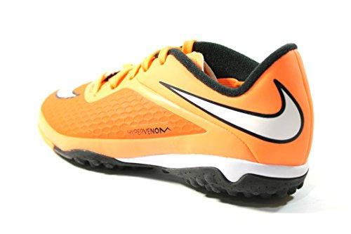 Kinder 34 atomic Nike Fussballschuhe JR hyper Phelon crimson Hypervenom orange white TF black 74RanqIH4