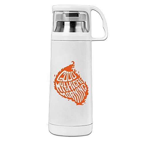 FFuture Good Mythical Morning Stainless Steel Vacuum Travel Mug Cup With Handle