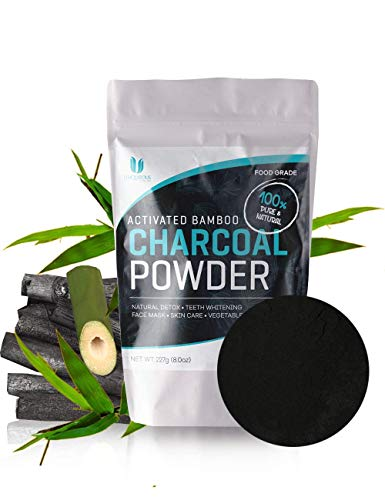 Activated Bamboo Charcoal Powder, Food Grade, Active Charcoal for Teeth Whitening, Baking, Soap Making. 1/2 Pound Fresh Bulk Bag. So Many Uses! by Zone – 365 Review