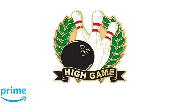 Crown Awards 200 Game Bowling Lapel Pins Bowling Enamel Pins