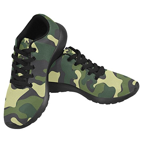 InterestPrint Womens Jogging Running Sneaker Lightweight Go Easy Walking Casual Comfort Sports Running Shoes Camouflage Multi 1 IMl3UaA3CP
