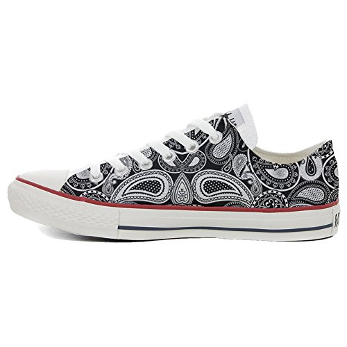 Converse All Star Customized - personalisierte Schuhe (Handwerk Produkt customized)Elegant Paisley