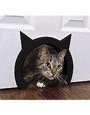 The Kitty Pass Interior Cat Door Special Midnight Edition (Black)