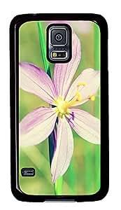 indestructible Samsung Galaxy S5 case Beautiful Summer Flowerss PC Black Custom Samsung Galaxy S5 Case Cover