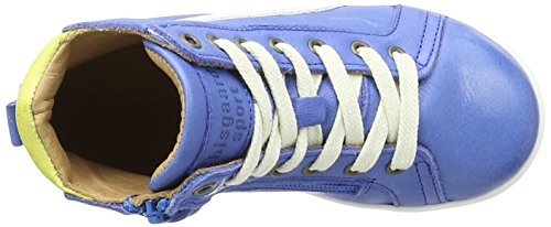 Bisgaard Schnürschuhe - Zapatilla Alta Unisex Niños Blau (601-1 Cobalt)