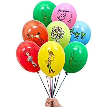 Disney Balloon Helium or Air  Value Pack Choose Qty Toy Story 3 Latex Balloons