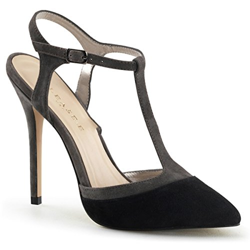 Pleaser - Zapatos destalonados de cuero mujer