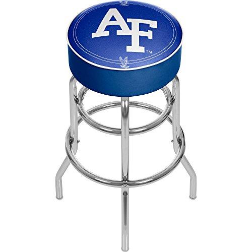 NCAA Air Force Academy Padded Swivel Bar Stool