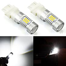 JDM ASTAR 1260 Lumens Extremely Bright PX Chipsets 3056 3156 3057 3157 LED Bulbs ,Xenon White